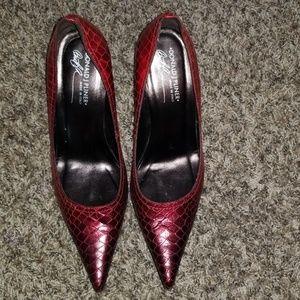 Donald J. Pliner Red Ombre Heels
